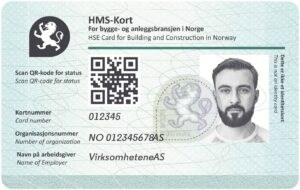 The image depicts the HSE card as it is from 2020